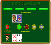 Click to view BlackJack Ace 1.0 screenshot