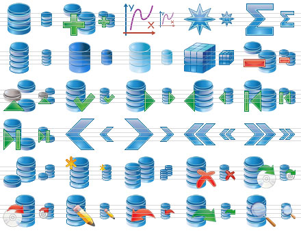 Click to view Database Icon Set 2013.1 screenshot