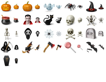 Click to view Desktop Halloween Icons 2013.1 screenshot