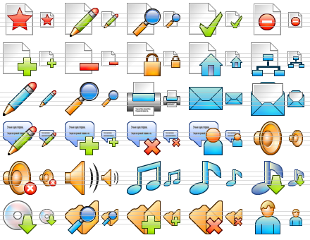 Click to view Small Online Icons 2013.1 screenshot