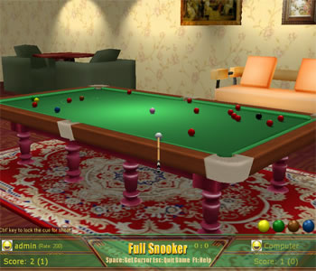 Click to view Snooker Game 2.9 screenshot