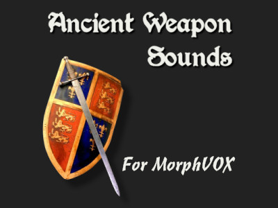 Click to view Ancient Weapon Sounds - MorphVOX Add-on 2.1.1 screenshot