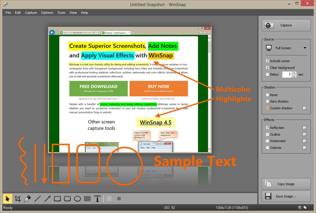 Click to view WinSnap 4.5.2 screenshot