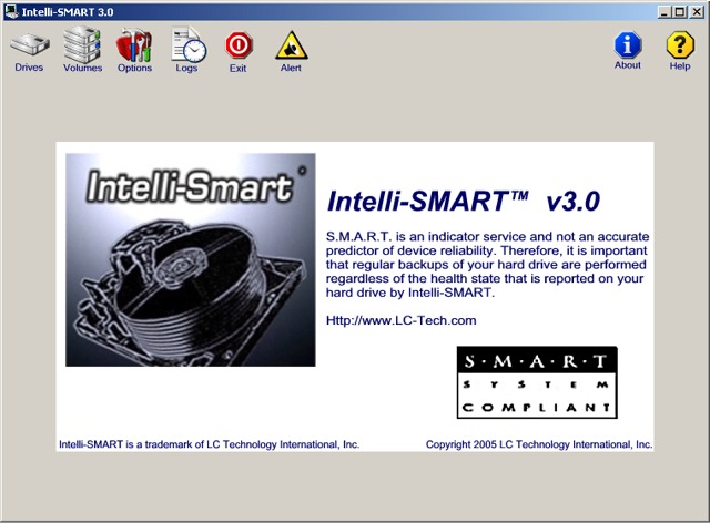 Click to view Intelli-SMART (PC) 3.0 screenshot