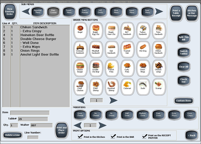 Click to view RESTAURANT MAID 2.3431 screenshot