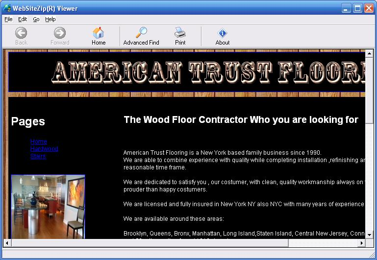 Click to view Hardwoodfloor 1.0.1 screenshot